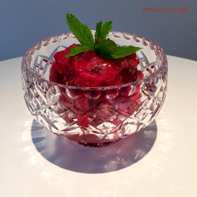 Pineapple and Cherry Granita – bakemecrazy66